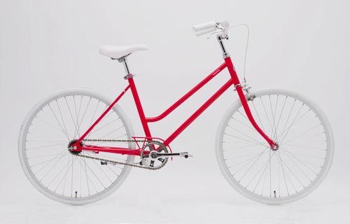 女性向けのシンプルな自転車 ...